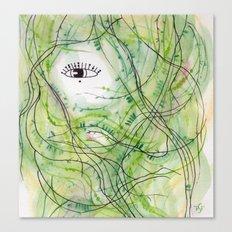 Mermaid Hair (1) Canvas Print