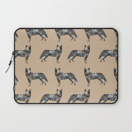 Australian Cattle dog must have gifts for cattle dog owners dog breed pet friendly unique dog art Laptop Sleeve
