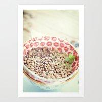 pasta Art Prints featuring Pasta. by Luisa Morón-Fotografía