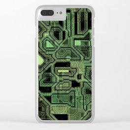 Circuit Board Clear iPhone Case