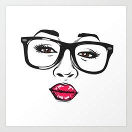 Sexy look Art Print