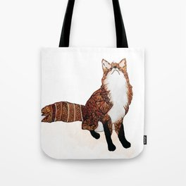 Fox Art, Watercolor Art, Animal Art, Woodland Animal Tote Bag