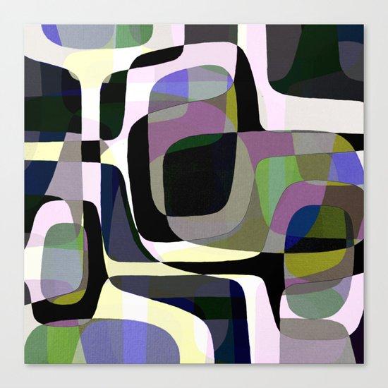 Mid Century Abstract 2 Canvas Print