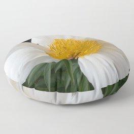 White Beauty by Teresa Thompson Floor Pillow