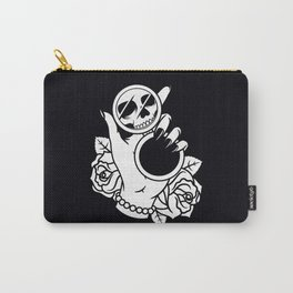 Dead on The Inside Carry-All Pouch