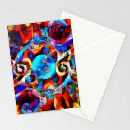 Fractal Frenzy I Stationery Cards