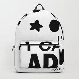 Game playing computer video Fun Addiction gift Backpack