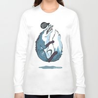 fierce Long Sleeve T-shirts featuring Fierce by Carlos Anguis