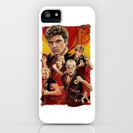Cobra Kai Never Die iPhone Case