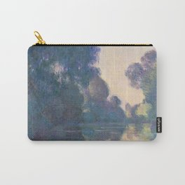 Morning On The Seine - Monet Carry-All Pouch