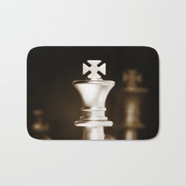 Chess-Sliver King Bath Mat