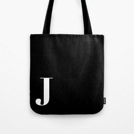 Initial J Tote Bag