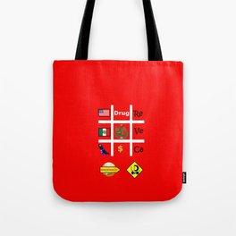 #Drug Tote Bag