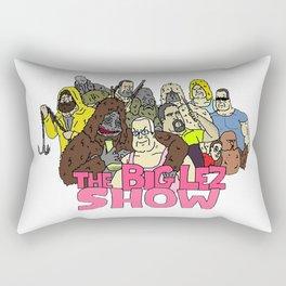 The big lez show Rectangular Pillow