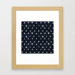 Midnight Starlet Framed Art Print