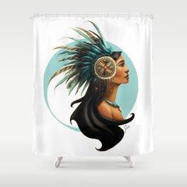 Tribal Princess Pocahontas Shower Curtain