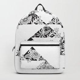 botanical triangles Backpack