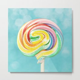 Lolly Love Metal Print