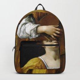 Artemisia Gentileschi - Saint Cecilia Backpack