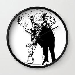 Elephant - M Wall Clock