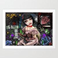 Til Death Art Print