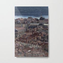 roofs of dubrovnik Metal Print