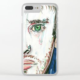 Sad-Minded Clear iPhone Case