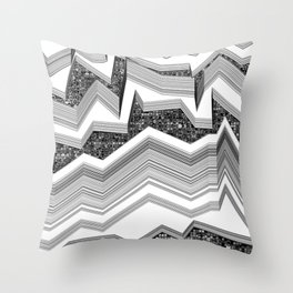up-down Throw Pillow