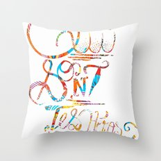 Who are your heroes? Throw Pillow