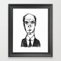 Not Amsued Framed Art Print
