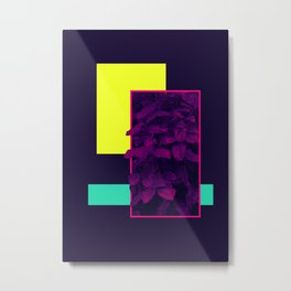 Neon Bush #society6 #retro Metal Print