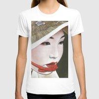 geisha T-shirts featuring Geisha by Andrea Maiorana