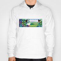 jungle Hoodies featuring Jungle by charker