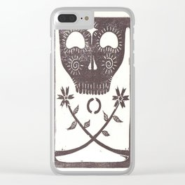 Acceptance (White) Clear iPhone Case