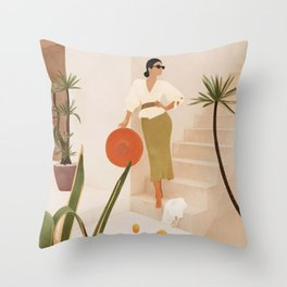 Wonders of the New Day Throw Pillow