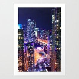 City of the Future - Toronto Art Print