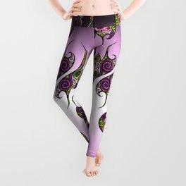 Oriental Tattoo Pattern Version Leggings