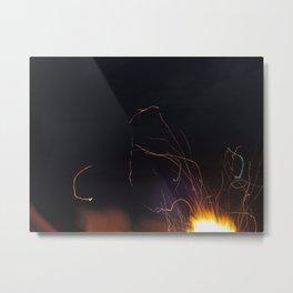Flames in the Wind Metal Print