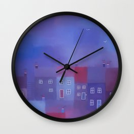 Devon evening Wall Clock