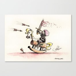 Playing Games Canvas Print