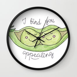 I find you appealing Wall Clock