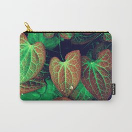 Plant Art, Simply Leaves Carry-All Pouch