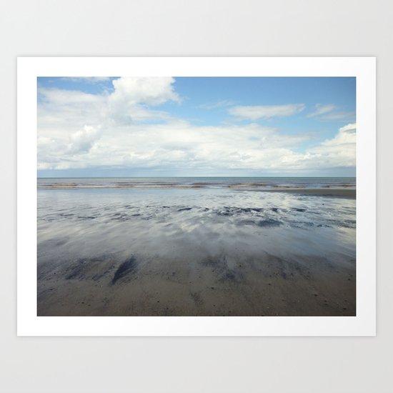 East Coast Seascape Art Print