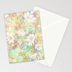 Vintage Flowers XXXIX - for iphone Stationery Cards