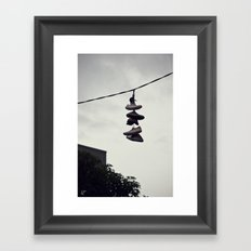 Blackwood Street Framed Art Print