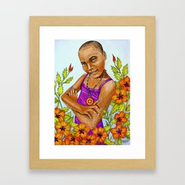 Nsoromma, Child of the Heavens Framed Art Print