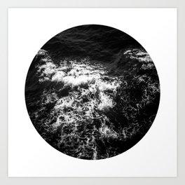 ocean porthole VI Art Print