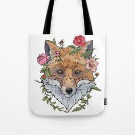 Boho Fox Tote Bag