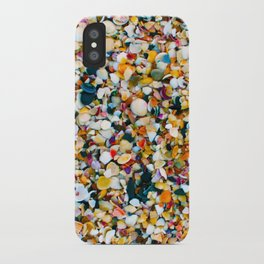 Crushed Sea Shells iPhone Case