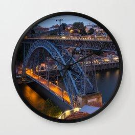 Porto Portugal Wall Clock